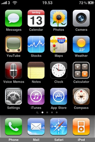 iPhone Standard Launch Screen