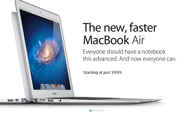 Apple Store Sliding Pages