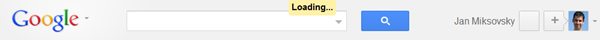 Google Docs Loading Indicator